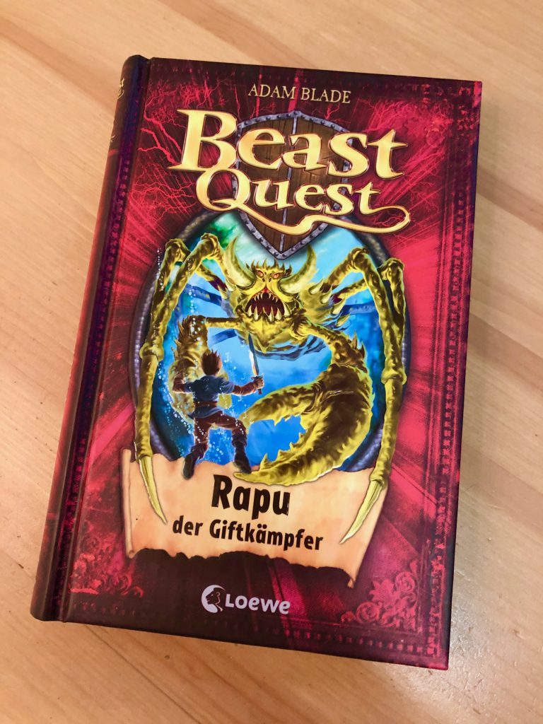 Cover Beast Quest - Band 25 Rapu, der Giftkämpder
