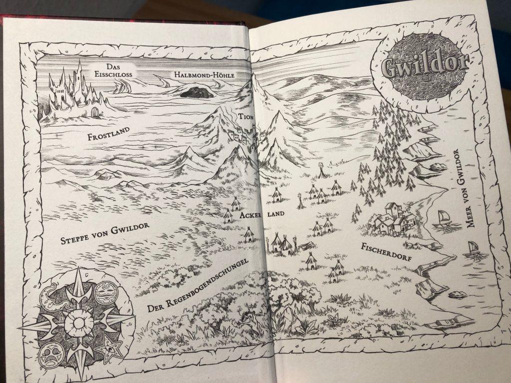 Die Karte von Gwildor